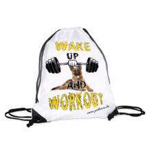 Német juhász hátizsák - workout