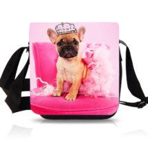 Francia Bulldog oldaltáska - princess