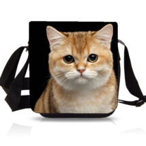 Cicás oldaltáska - Vörös macska