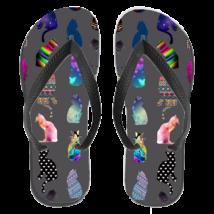 Cicás papucs (flip flop) - color