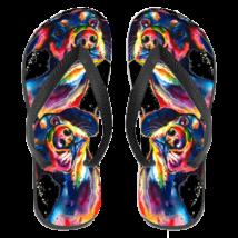 Tacskós papucs (flip flop) - paint