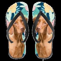 Vizsla papucs (flip flop) - hawaii