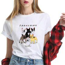 Frenchies unisex póló