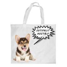 Corgi bevásárló táska - jutifali