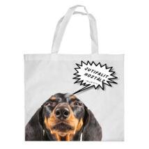 Tacskó bevásárló táska - jutifali