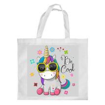 Unikornis mintás bevásárló táska - Be Cool