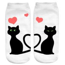 Cicás zokni - love