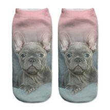 Francia Bulldogos zokni 2