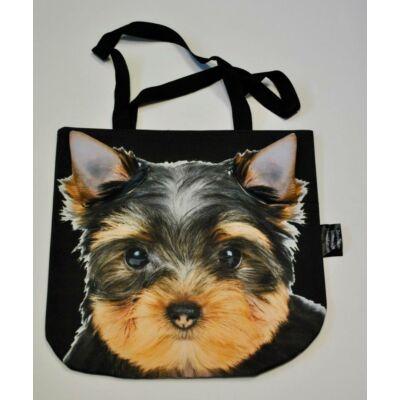 3D Yorki mintás táska - puppy