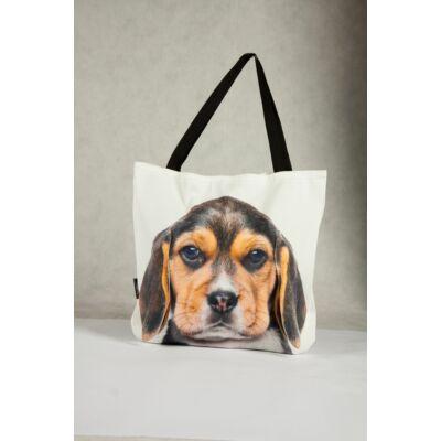 3D Beagle mintás táska - puppy