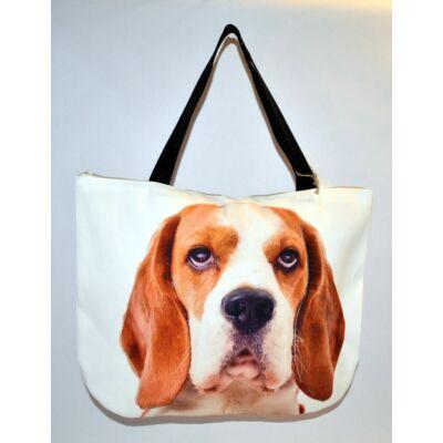 3D Beagle mintás táska