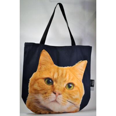 3D Macskás táska - vörös 2