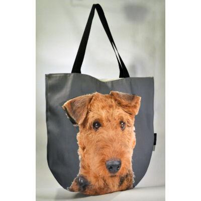 3D Airedale Terrier mintás táska