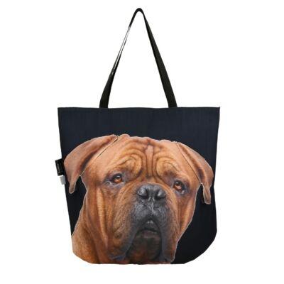 3D Mastiff mintás táska