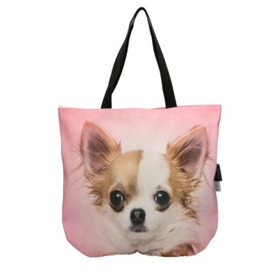 3D Chihuahua mintás táska 2