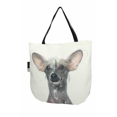 3D Kínai meztelen kutya mintás táska