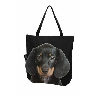 3D Tacskó mintás táska - puppy 2