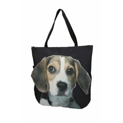 3D Beagle mintás táska 2