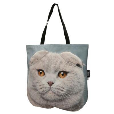 3D Skót lógófülű macskás táska