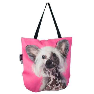 3D Kínai meztelen kutya mintás táska 2