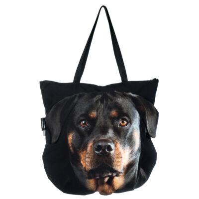 3D Rottweiler mintás táska 3