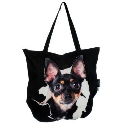 3D Chihuahua mintás táska 5