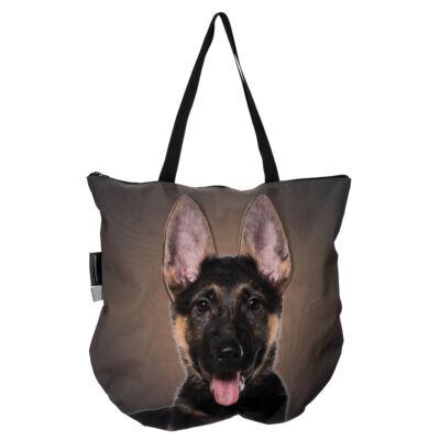 3D Német Juhász mintás táska puppy