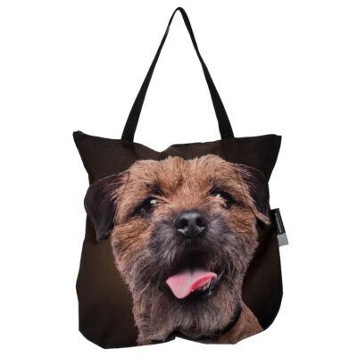 3D Border Terrier mintás táska 2