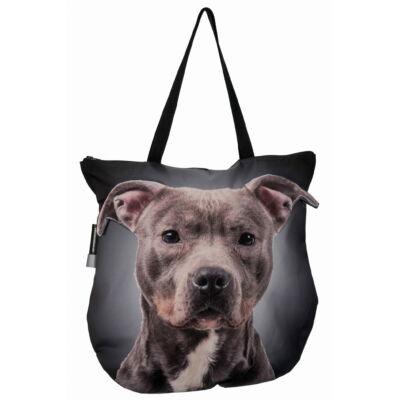 3D Pitbull mintás táska