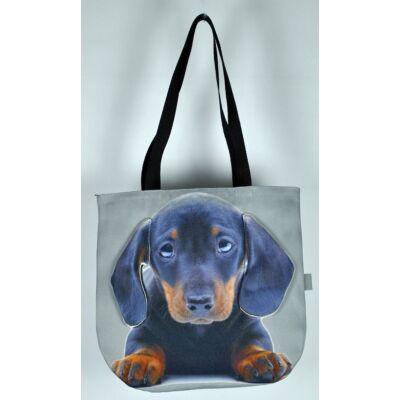 3D Tacskó mintás kids táska - puppy