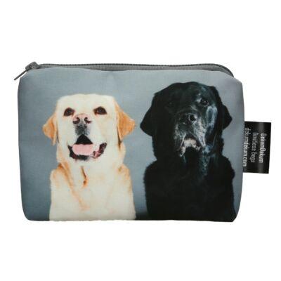 Labrador mintás kozmetikai táska