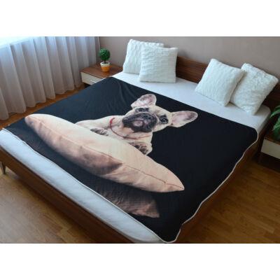 Francia Bulldog ágytakaró 2