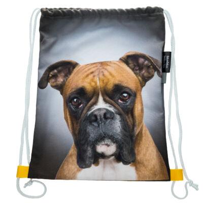 Boxer mintás hátizsák