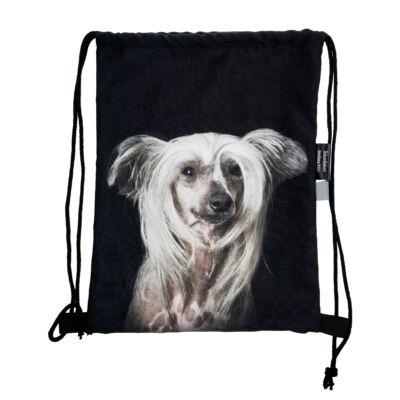Kínai meztelen kutya mintás hátizsák