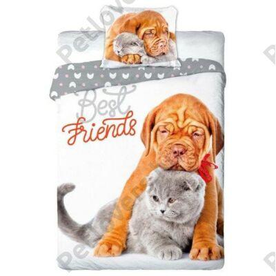 Bordeaux dog és cicás ágynemű - The Friends
