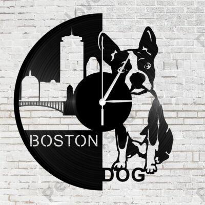 Boston Terrier falióra