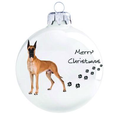 Német dog kutya karácsonyfadísz
