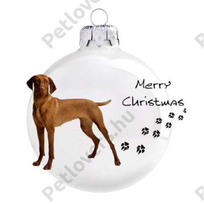 Vizsla karácsonyfadísz