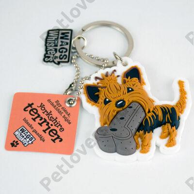 Yorkshire terrier kulcstartó - w&w