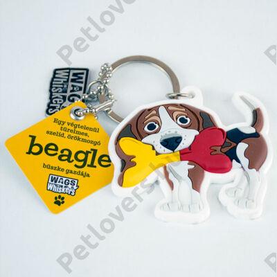 Beagle kulcstartó - w&w