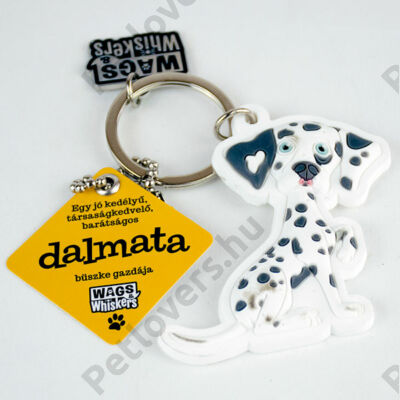 Dalmata kulcstartó - w&w