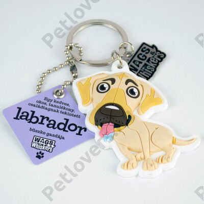 Labrador kulcstartó - w&w