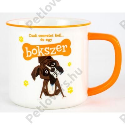 Boxer bögre - w&w