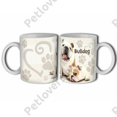 Bulldog bögre