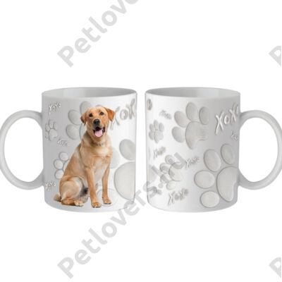 Labrador bögre - xoxo