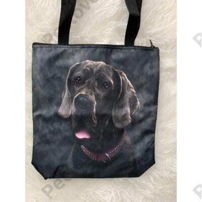 Német Dog mintás táska
