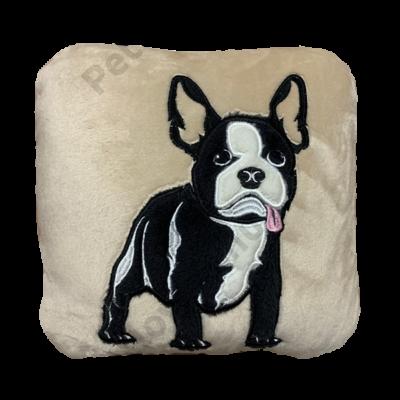 Wellsoft Francia Bulldog párna - barna
