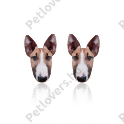 Bullterrier fülbevaló