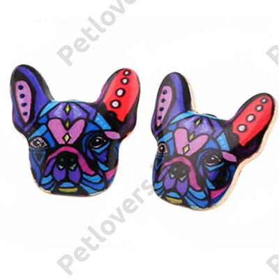 Franci Bulldog fülbevaló 2