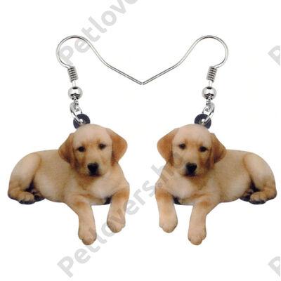 Labrador fülbevaló